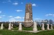 """№427 - Пам\'ятник \""""Шведам від Шведів\"""" - Тахтаулове. Пам\'ятник \""""Шведам від Росіян\"""" - Полтава"""